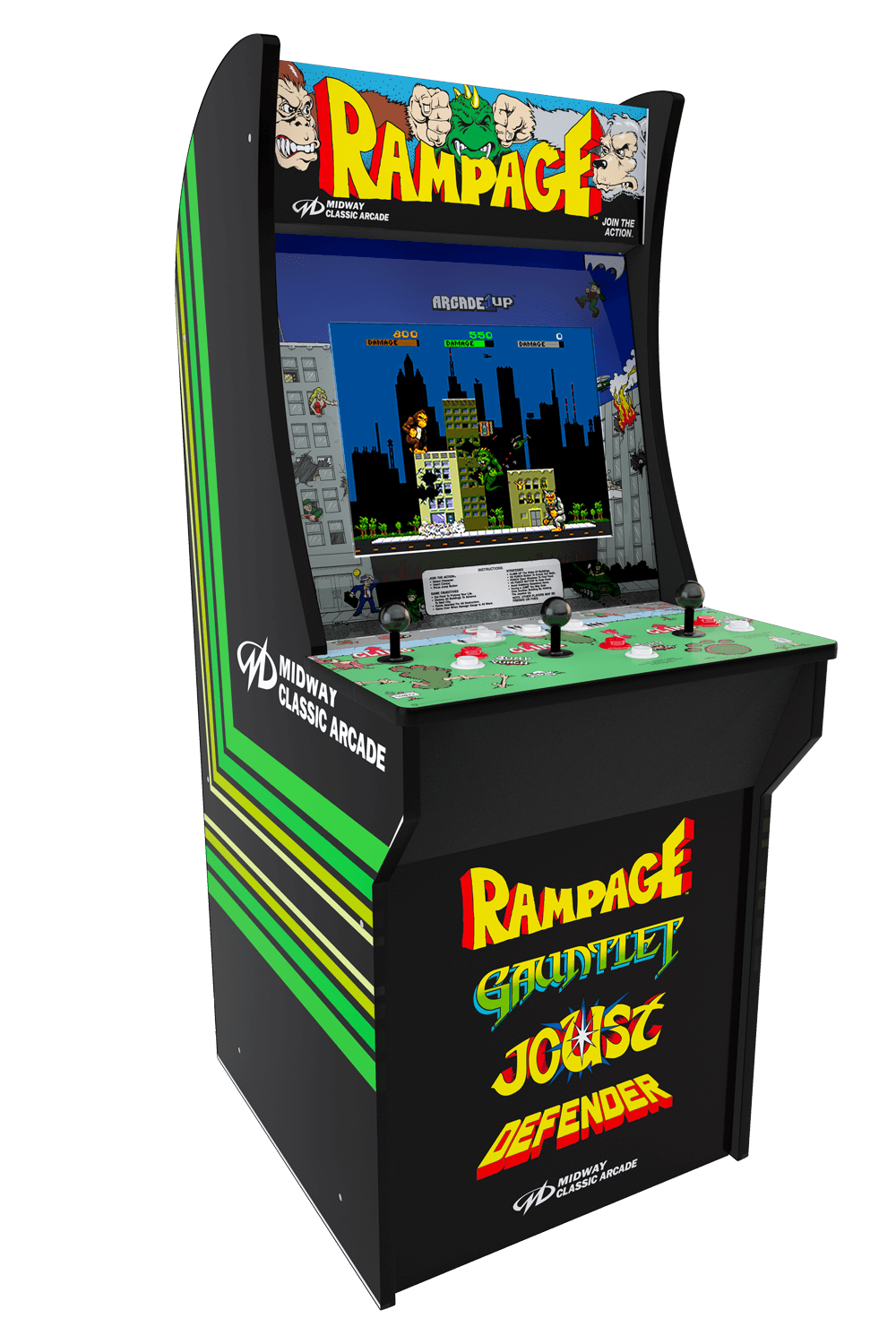 OFFICIAL Arcade1UP Rampage Cabinet - NEW IN BOX