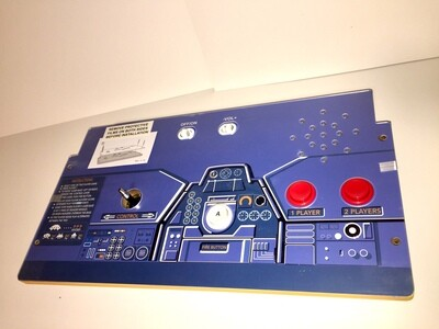 Space Invaders Control Deck with Plexi Protector - BRAND NEW