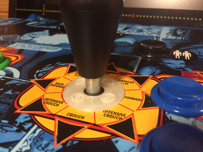 AT GAMES JOYSTICK DUST COVERS - The Official Set of 2