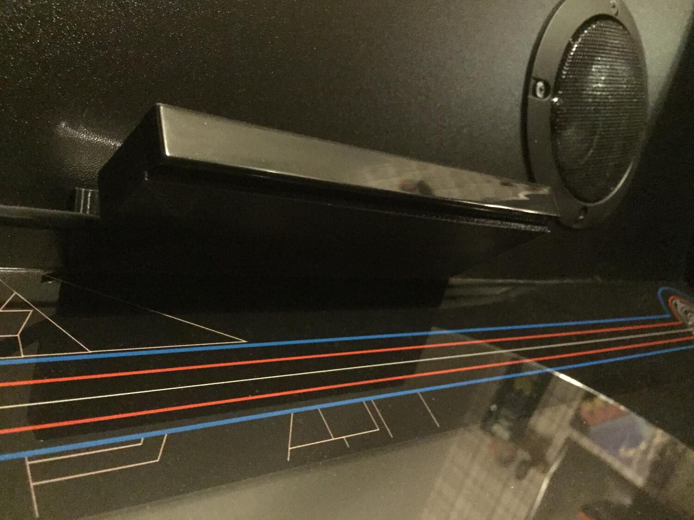 The Official ATGames Legends Ultimate Light Gun Sensor Shelf
