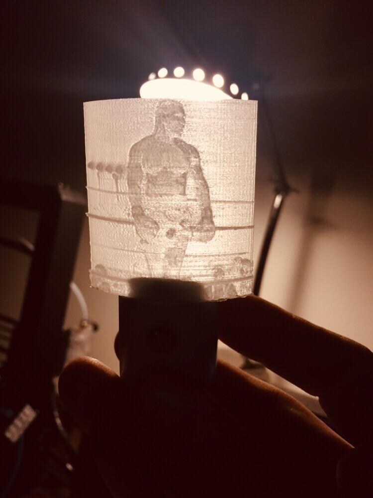 Custom Lithophane Art - Turn your memories into a backlit Keepsake.
