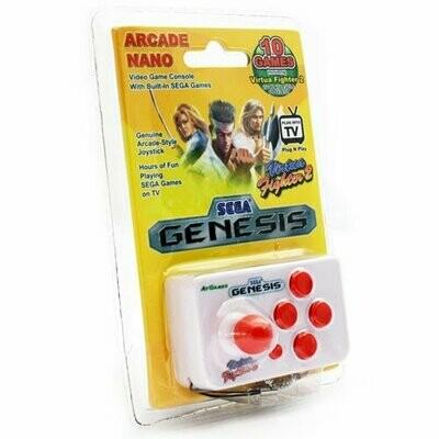 AtGames Arcade Nano Travel Console - PLAY REAL SEGA GAMES ON A KEYCHAIN