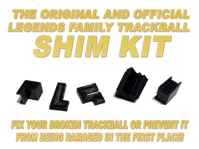 THE OFFICIAL AND ORIGINAL SHELDON SIMS ATGAMES TRACKBALL SHIM KIT - Fix that ATGames trackball!