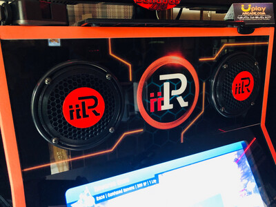 iiRcade Standard Speaker Grills - ADD SOME FLARE TO THAT iiR!!!