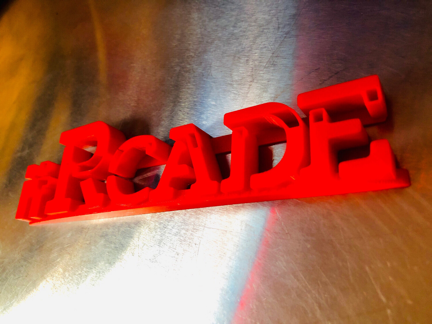 iiRcade LOGO STATUE - Make That New iiRcade Cab really Stand Out! (New Design!)