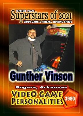 Gunther Vinson Trading Card #3980 - Signed And Delivered!