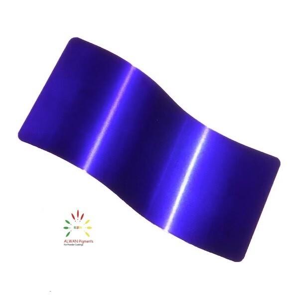 Shine Blue Candy&Chrome Alwan powder coating china Wholesale powder coating high glossy epoxy polyester 20kg/Box