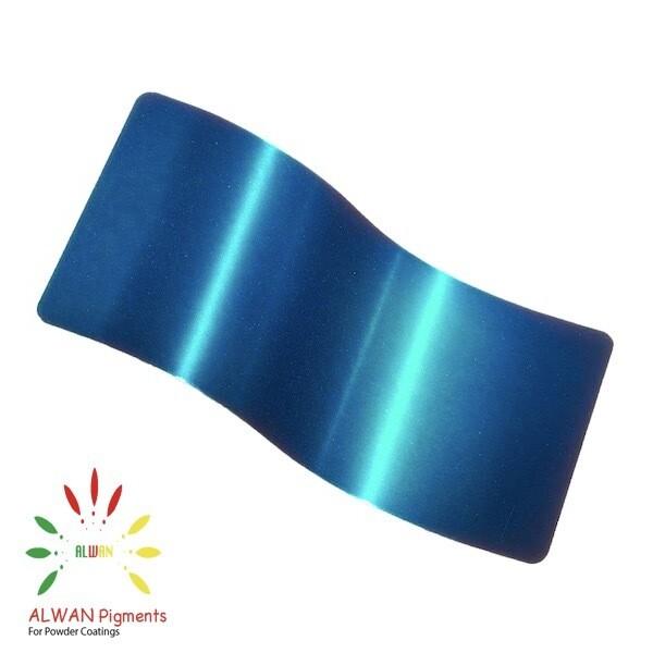 Candy Blue Candy&Chrome Alwan powder coating china Wholesale powder coating high glossy epoxy polyester 20kg/Box