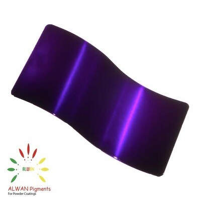 Candy Purple Candy&Chrome Alwan powder coating china Wholesale powder coating high glossy epoxy polyester 20kg/Box