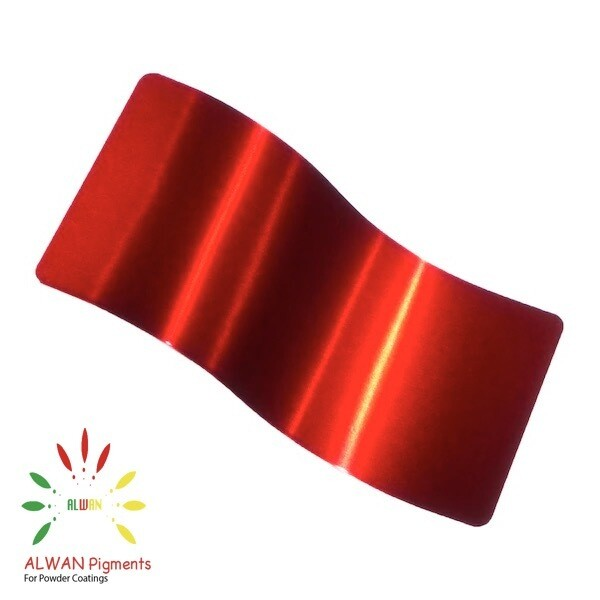 Flame Red Candy&Chrome Alwan powder coating china Wholesale powder coating high glossy epoxy polyester 20kg/Box