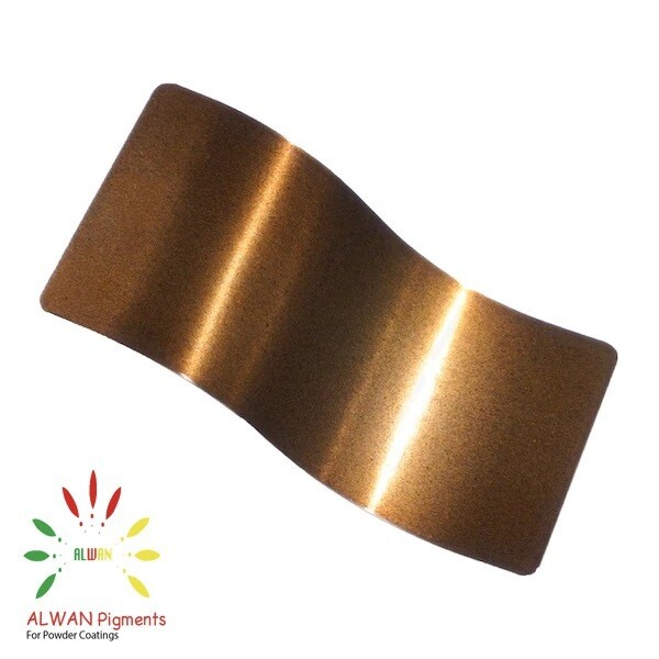 Bronze Candy&Chrome Alwan powder coating china Wholesale powder coating high glossy epoxy polyester 20kg/Box