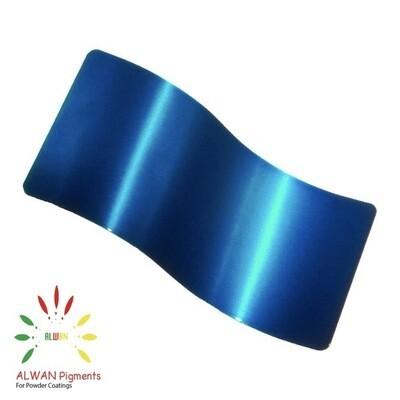 Clear Blue Candy&Chrome Alwan powder coating china Wholesale powder coating high glossy epoxy polyester 20kg/Box