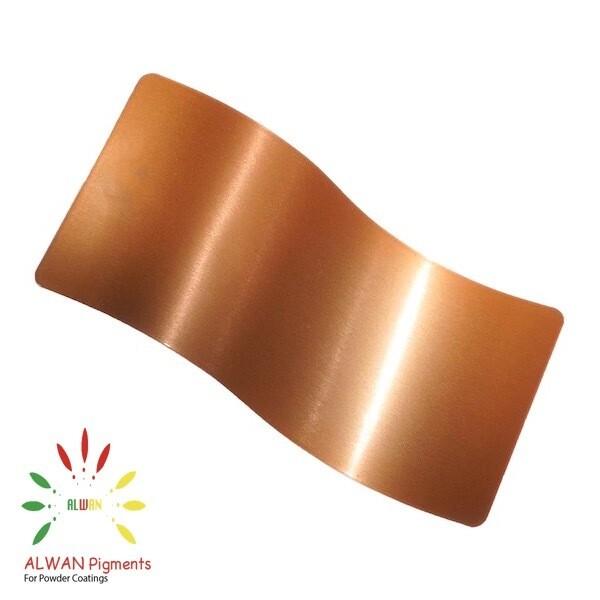 Clear Copper Candy&Chrome Alwan powder coating china Wholesale powder coating high glossy epoxy polyester 20kg/Box