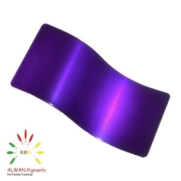 Clear Purple Candy&Chrome Alwan powder coating china Wholesale powder coating high glossy epoxy polyester 20kg/Box