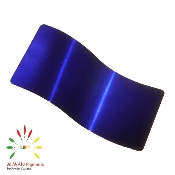 Dark Blue Candy&Chrome Alwan powder coating china Wholesale powder coating high glossy epoxy polyester 20kg/Box