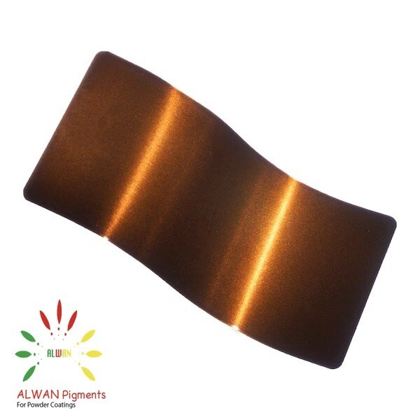 Dark Bronze Candy&Chrome Alwan powder coating china Wholesale powder coating high glossy epoxy polyester 20kg/Box