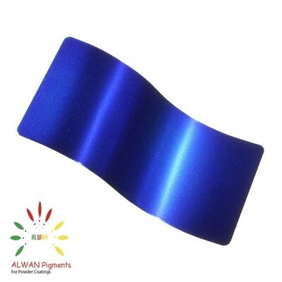 Deep Blue Candy&Chrome Alwan powder coating china Wholesale powder coating high glossy epoxy polyester 20kg/Box