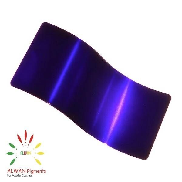 Deep Purple Candy&Chrome Alwan powder coating china Wholesale powder coating high glossy epoxy polyester 20kg/Box