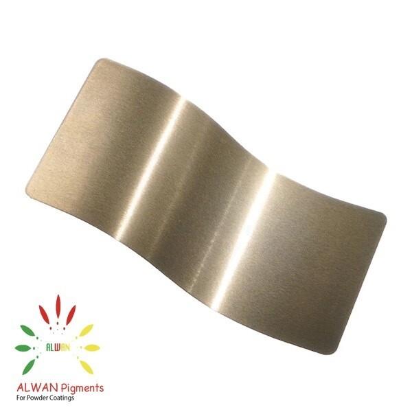 Lite Brass Candy&Chrome Alwan powder coating china Wholesale powder coating high glossy epoxy polyester 20kg/Box