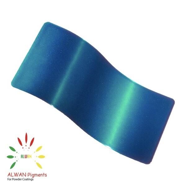Magic Green Candy&Chrome Alwan powder coating china Wholesale powder coating high glossy epoxy polyester 20kg/Box
