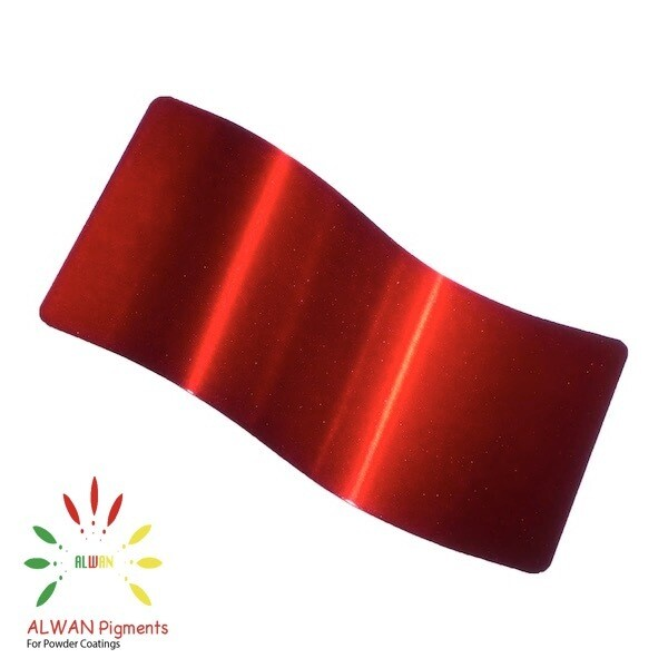 Ranch Red Candy&Chrome Alwan powder coating china Wholesale powder coating high glossy epoxy polyester 20kg/Box