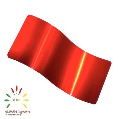 Shen Red Candy&Chrome Alwan powder coating china Wholesale powder coating high glossy epoxy polyester 20kg/Box