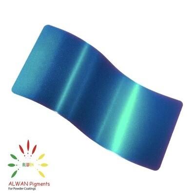 Soft Trans Green Candy&Chrome Alwan powder coating china Wholesale powder coating high glossy epoxy polyester 20kg/Box