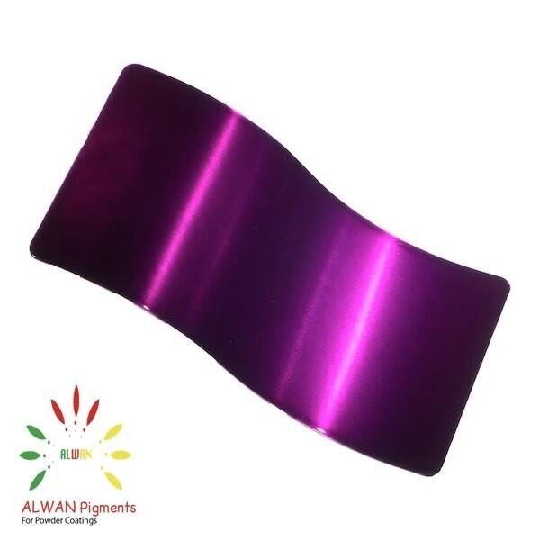 Trans Purple Candy&Chrome Alwan powder coating china Wholesale powder coating high glossy epoxy polyester 20kg/Box