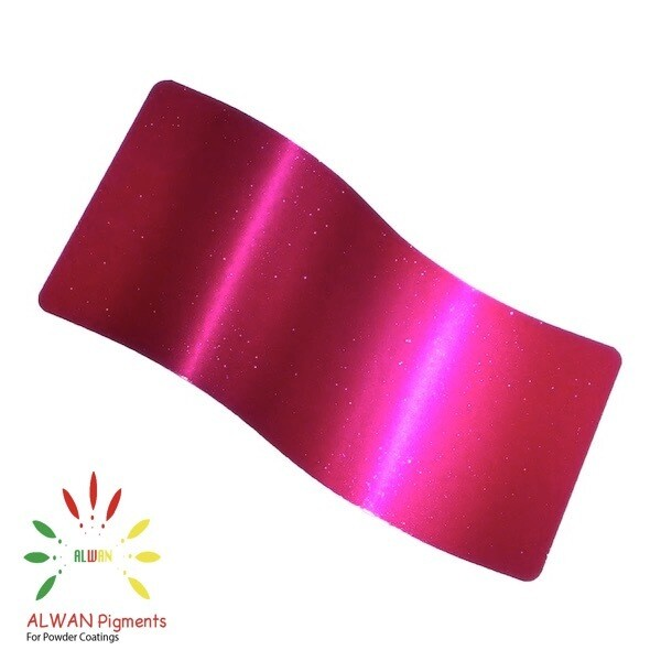 Light Sparky Pink Candy&Chrome Alwan powder coating china Wholesale powder coating high glossy epoxy polyester 20kg/Box