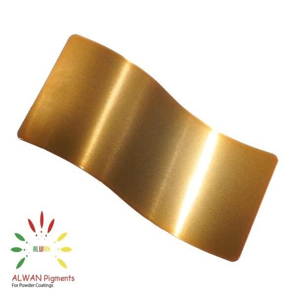 Shiny Brass Candy&Chrome Alwan powder coating china Wholesale powder coating high glossy epoxy polyester 20kg/Box