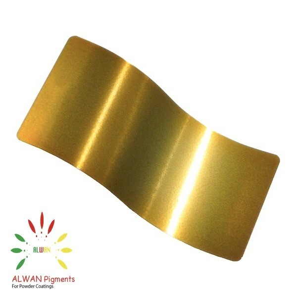 Shiny Gold Candy&Chrome Alwan powder coating china Wholesale powder coating high glossy epoxy polyester 20kg/Box