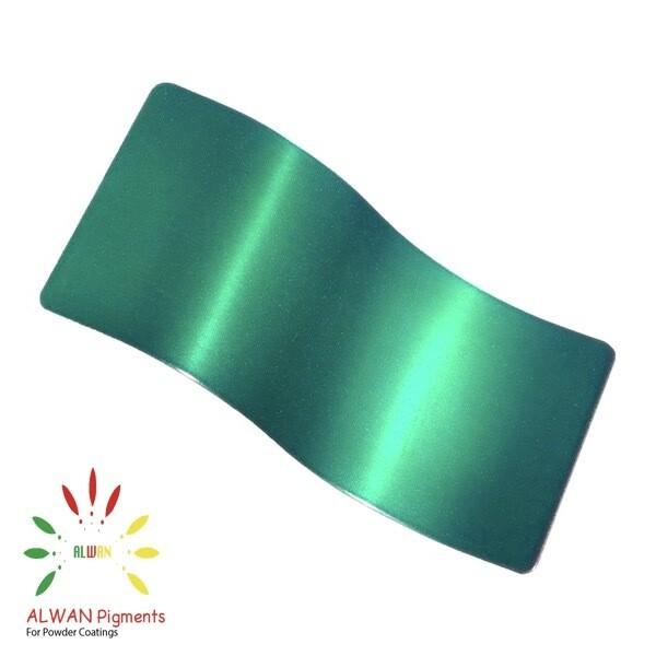 Shiny Green Candy&Chrome Alwan powder coating china Wholesale powder coating high glossy epoxy polyester 20kg/Box