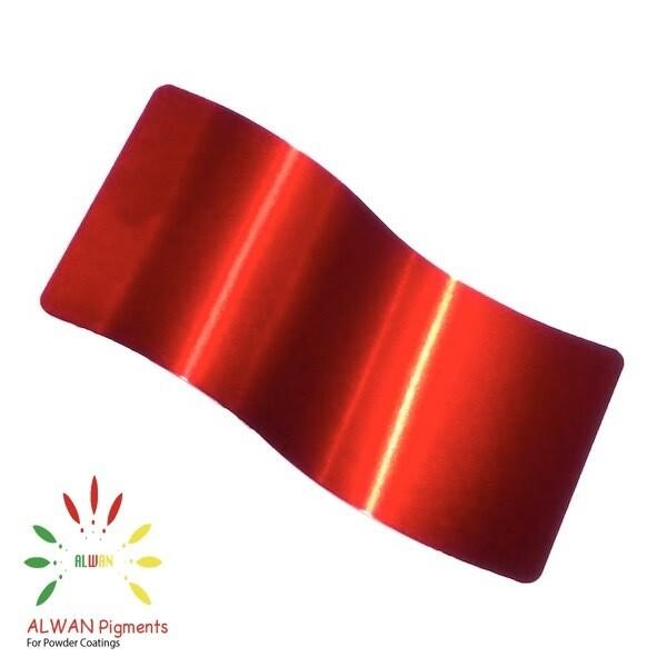 Shiny Red Candy&Chrome Alwan powder coating china Wholesale powder coating high glossy epoxy polyester 20kg/Box