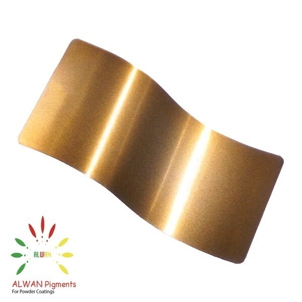 Shiny Sparky gold Candy&Chrome Alwan powder coating china Wholesale powder coating high glossy epoxy polyester 20kg/Box