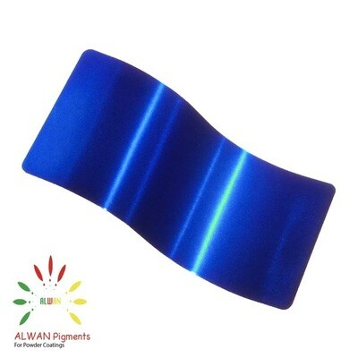 Trans Blue Candy&Chrome Alwan powder coating china Wholesale powder coating high glossy epoxy polyester 20kg/Box