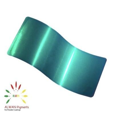 Trans Green II Candy&Chrome Alwan powder coating china Wholesale powder coating high glossy epoxy polyester 20kg/Box