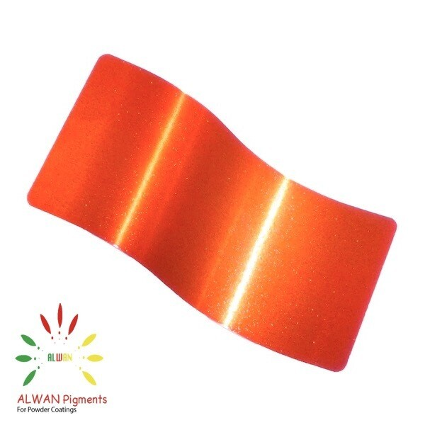 Sparky Orange  Candy&Chrome Alwan powder coating china Wholesale powder coating high glossy epoxy polyester 20kg/Box