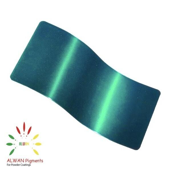 Super Trans Green Candy&Chrome Alwan powder coating china Wholesale powder coating high glossy epoxy polyester 20kg/Box