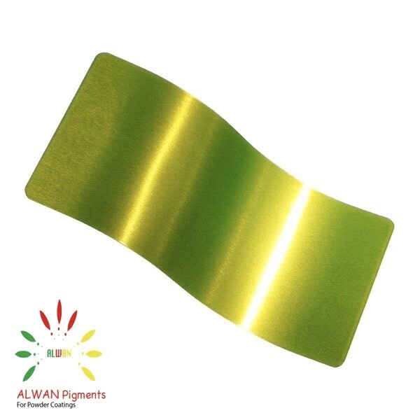 Trans Clear Green Candy&Chrome Alwan powder coating china Wholesale powder coating high glossy epoxy polyester 20kg/Box