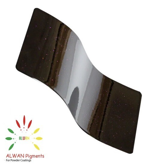 Ultra Shine Brown Candy&Chrome Alwan powder coating china Wholesale powder coating high glossy epoxy polyester 20kg/Box