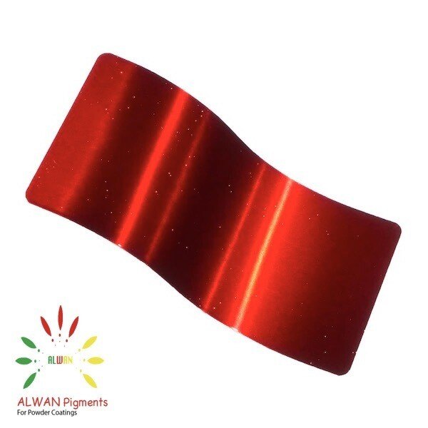 Ultra Shine Red Candy&Chrome Alwan powder coating china Wholesale powder coating high glossy epoxy polyester 20kg/Box