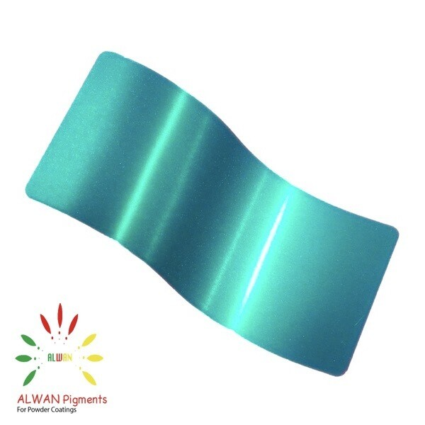 Ultra Sparky Green Candy&Chrome Alwan powder coating china Wholesale powder coating high glossy epoxy polyester 20kg/Box