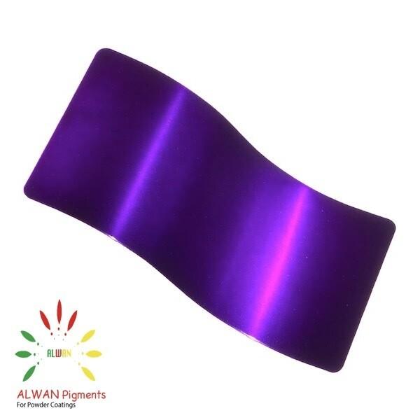 Ultra Trans Purple Candy&Chrome Alwan powder coating china Wholesale powder coating high glossy epoxy polyester 20kg/Box