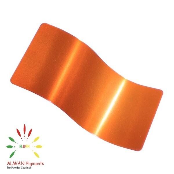 Ultra Shiny Orange Candy&Chrome Alwan powder coating china Wholesale powder coating high glossy epoxy polyester 20kg/Box