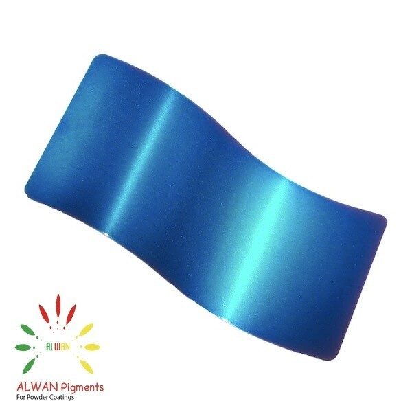 Ultra Trans Blue Candy&Chrome Alwan powder coating china Wholesale powder coating high glossy epoxy polyester 20kg/Box