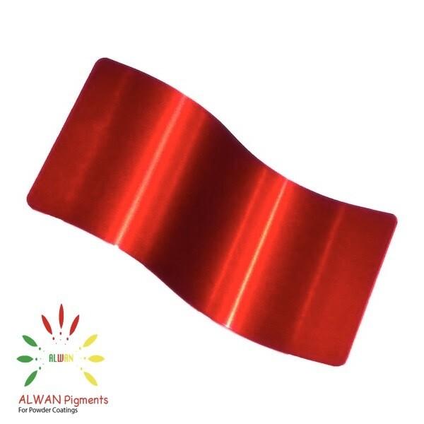 Ultra Trans Red Candy&Chrome Alwan powder coating china Wholesale powder coating high glossy epoxy polyester 20kg/Box