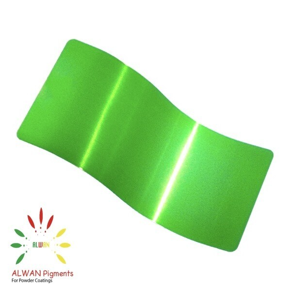 Wild Green Candy&Chrome Alwan powder coating china Wholesale powder coating high glossy epoxy polyester 20kg/Box