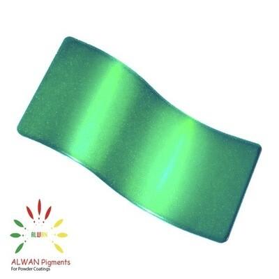 Ultra Shiny Green Candy&Chrome Alwan powder coating china Wholesale powder coating high glossy epoxy polyester 20kg/Box