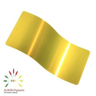 Ultra Shiny Yellow Candy&Chrome Alwan powder coating china Wholesale powder coating high glossy epoxy polyester 20kg/Box