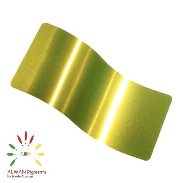 Yellow Phosphorus Candy&Chrome Alwan powder coating china Wholesale powder coating high glossy epoxy polyester 20kg/Box
